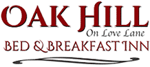 Oak Hill on Love Lane Bed and Breakfast Logo