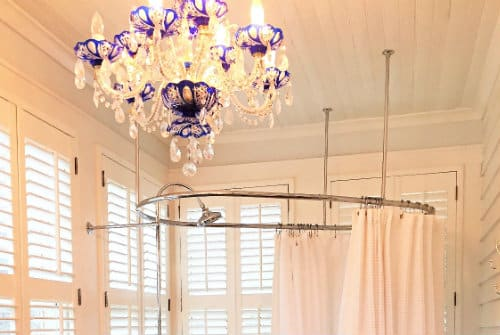 Chandelier in Bess Ray Howell room