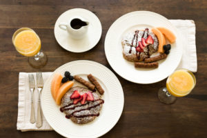 stuffed-croissant-french-toast-at-oak-hill-on-love-lane-bed-and-breakfast-waynesville-nc