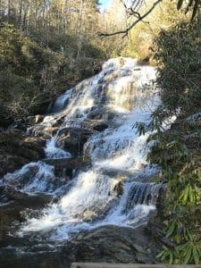 Waterfalls Near Waynesville NC